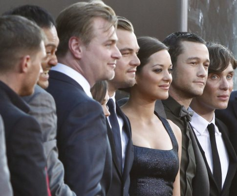 Premiere do filme «Inception»