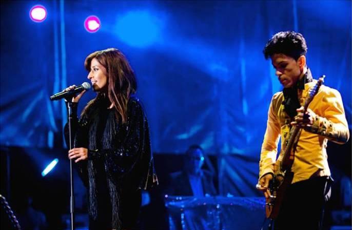Ana Moura e Prince