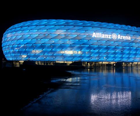 Allianz Arena, em Munique (Bayern)