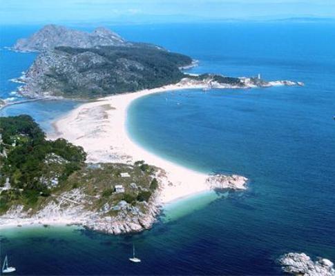 Praia de Rodas, Islas Cies, Galiza