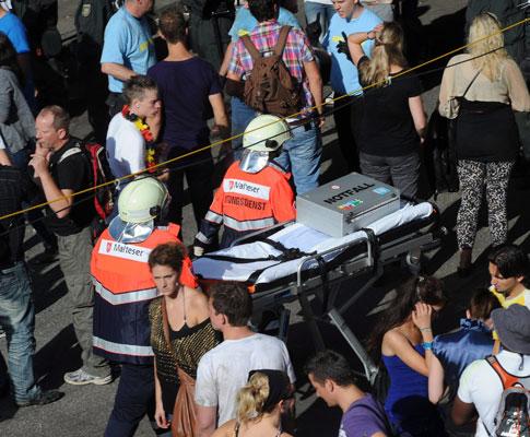 Alemanha: tragédia em festival de música