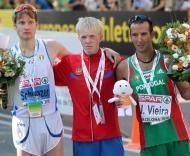 João Vieira conquistou medalha de bronze nos 20km marcha