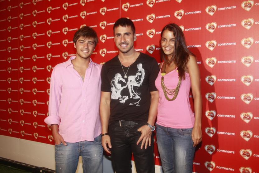 Lourenço Ortigão, Júlio Rocha e Sara Matos