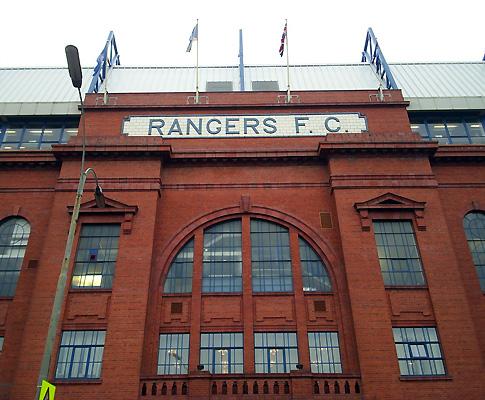 Estádio Ibrox, em Glasgow (Rangers)
