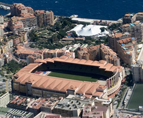 Estádio Louis II, no Mónaco