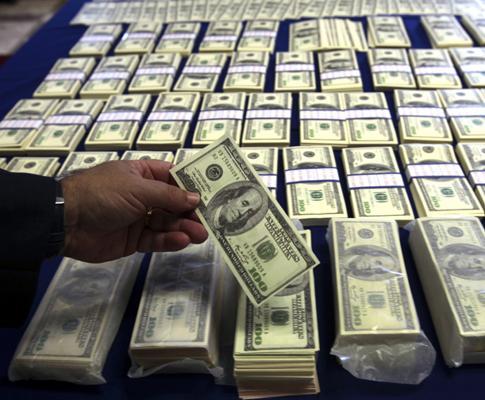 800 mil dólares falsos (PAULO CUNHA/LUSA)
