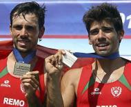Europeus de remo: Pedro Fraga e Nuno Mendes