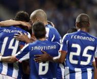 A festa do golo do F.C. Porto frente ao Rapid Viena