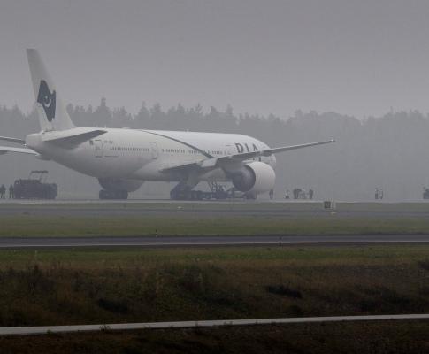 Suécia: ameaça de bomba em avião
