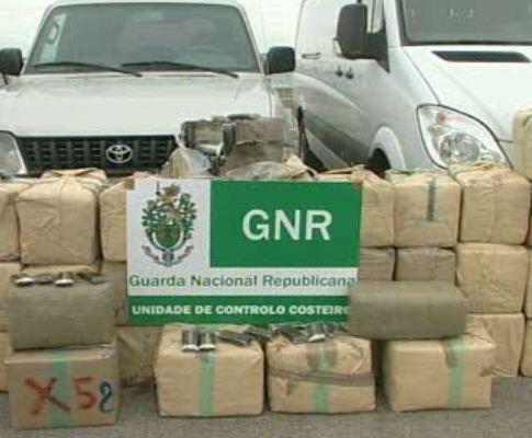 GNR apreende duas toneladas de haxixe