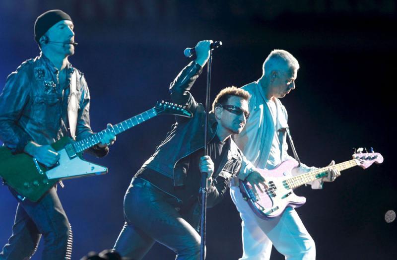 Concerto U2 em Espanha