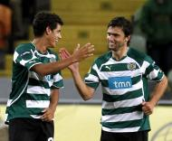 Sporting (Salomão e Postiga) vs Levski Sofia