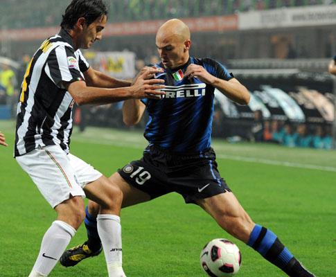 Inter Milan vs Juventus (EPA/DANIEL DAL ZENNARO)