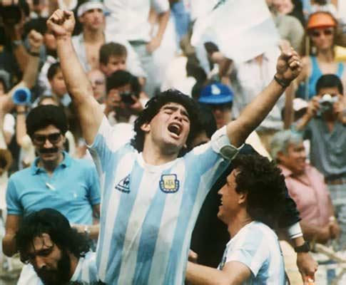 Mundial 86: campeón, campeón (foto Atlântico Press/Picture Alliance/DPA)