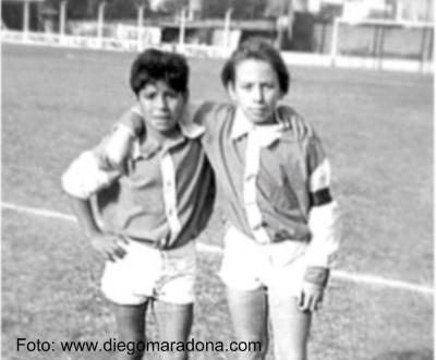 Maradona no Cebollitas