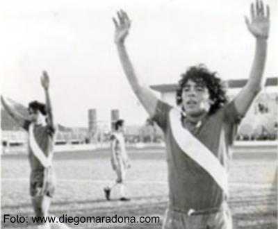 Maradona no Argentino Juniors