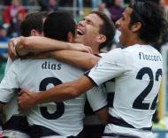 Lazio celebra liderança na Série A