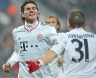Cluj vs Bayern Munique (EPA/Peter Kneffel)