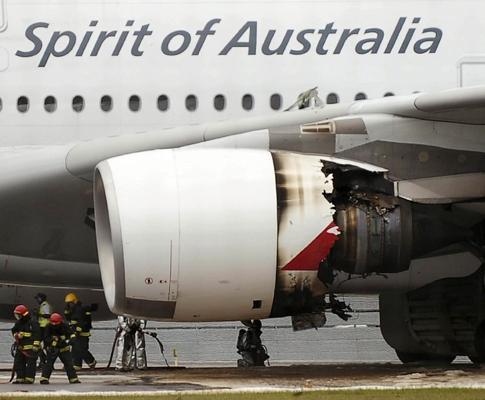 Acidente com avião da Qantas
