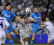 Hajduk Split vs Zenit Petersburgo (EPA/STR)