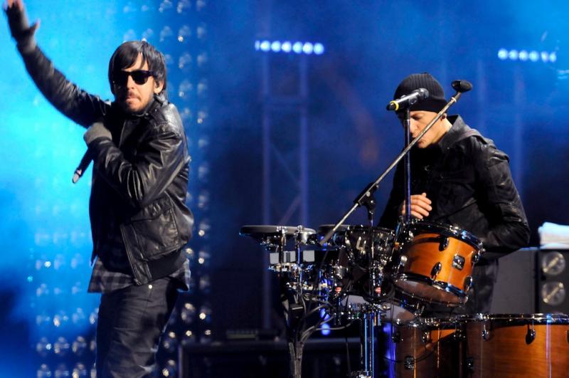 Linkin Park nos MTV Europe Music Awards 2010 ( Foto: EPA )
