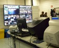 Estádio do Dragão: sala de segurança
