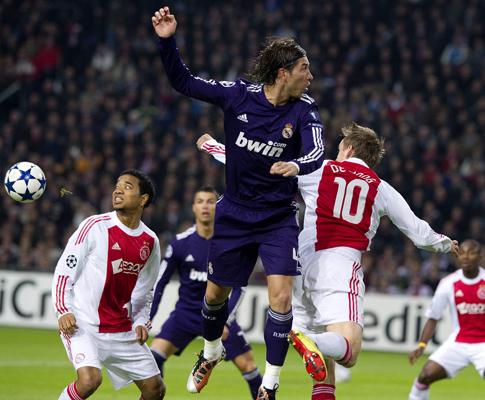 Ajax vs Real Madrid (EPA/Olaf Kraak)