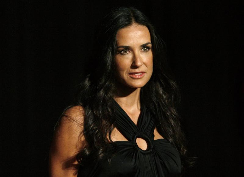 Os looks de Demi Moore (Reuters)