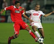 Hapoel Tel Aviv vs Benfica (EPA/Oliver Weiken)