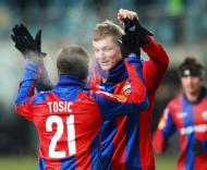 CSKA Moscovo vs Lausanne (EPA/Sergei Chirikov)