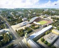Mundial-2018: projecto do novo estádio em Yaroslavl