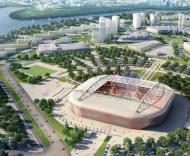 Mundial-2018: projecto do novo estádio em Moscovo (Spartak)