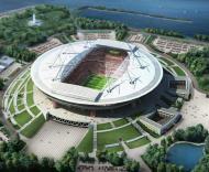Mundial-2018: projecto do novo estádio em São Petersburgo