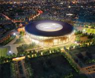 Mundial-2018: projecto do novo estádio em Yekaterinburg (JO Inverno 2014)