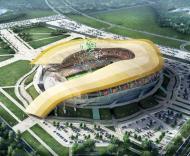 Mundial-2018: projecto do novo estádio em Rostov-on-Don