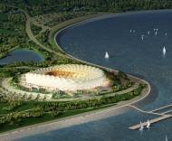 Mundial-2018: projecto do novo estádio em Krasnodar
