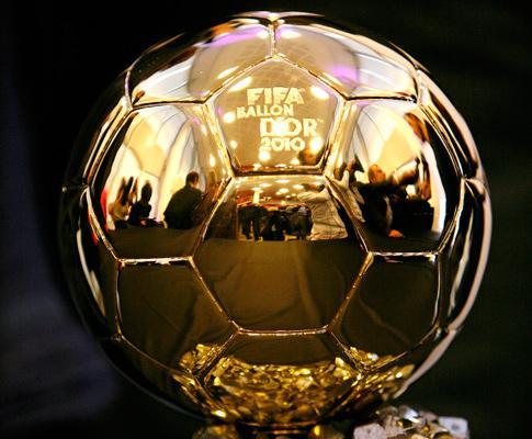 A ambicionada Bola de Ouro da FIFA