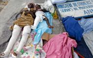 Pós-terramoto no Haiti (EPA/David Fernandez)