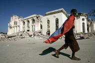 Pós-terramoto no Haiti (EPA/Orlando Barria)
