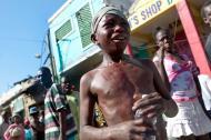 Pós-terramoto no Haiti (EPA/Benjamin J. Myers)