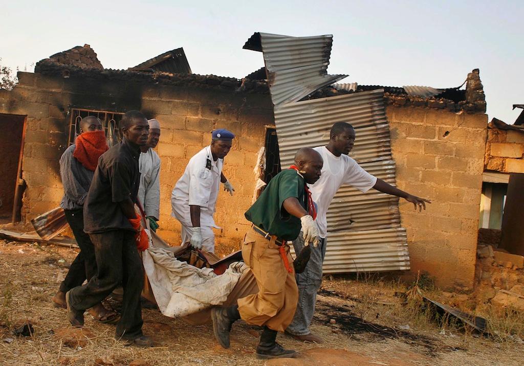 Confrontos religiosos na Nigéria (EPA/STR)