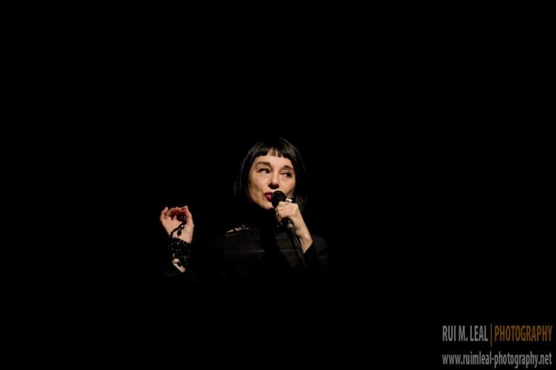 Mísia ao vivo no Lux Frágil (Foto: Rui M. Leal)