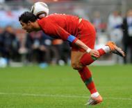 Cristiano Ronaldo durante o Mundial de Futebol, na África do Sul (EPA/Helmut Fohringer)