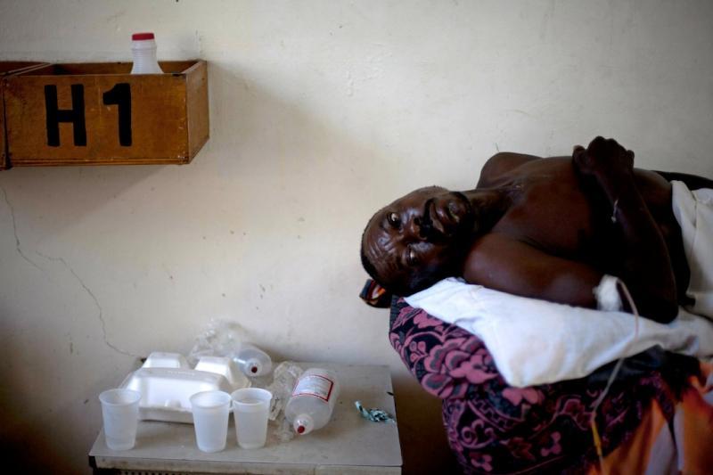 Cólera no Haiti (EPA/Andres Martines Casares)