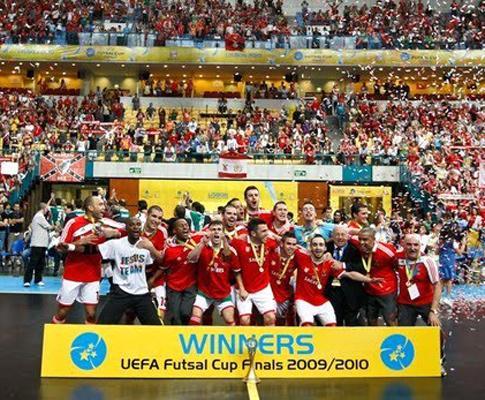 UEFA Futsal Cup  Benfica em busca de repetir o sonho de 2010 ... 20cfa72a649cb