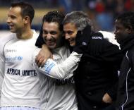 Futre e Mourinho