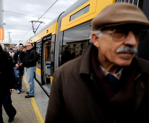 Linha F do Metro do Porto (Luís Efigénio/Lusa)
