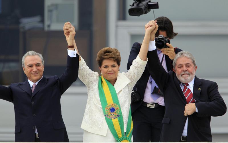 Dilma Rousseff tomou posse do governo do Brasil (Reuters)