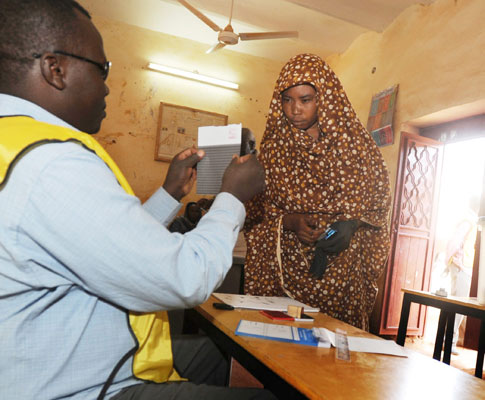 Referendo no Sudão (EPA)