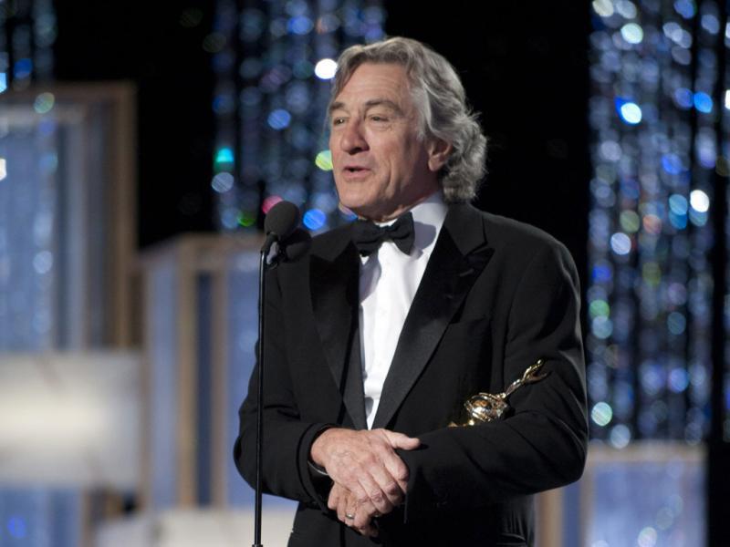 Robert De Niro nos Globos de Ouro (EPA)
